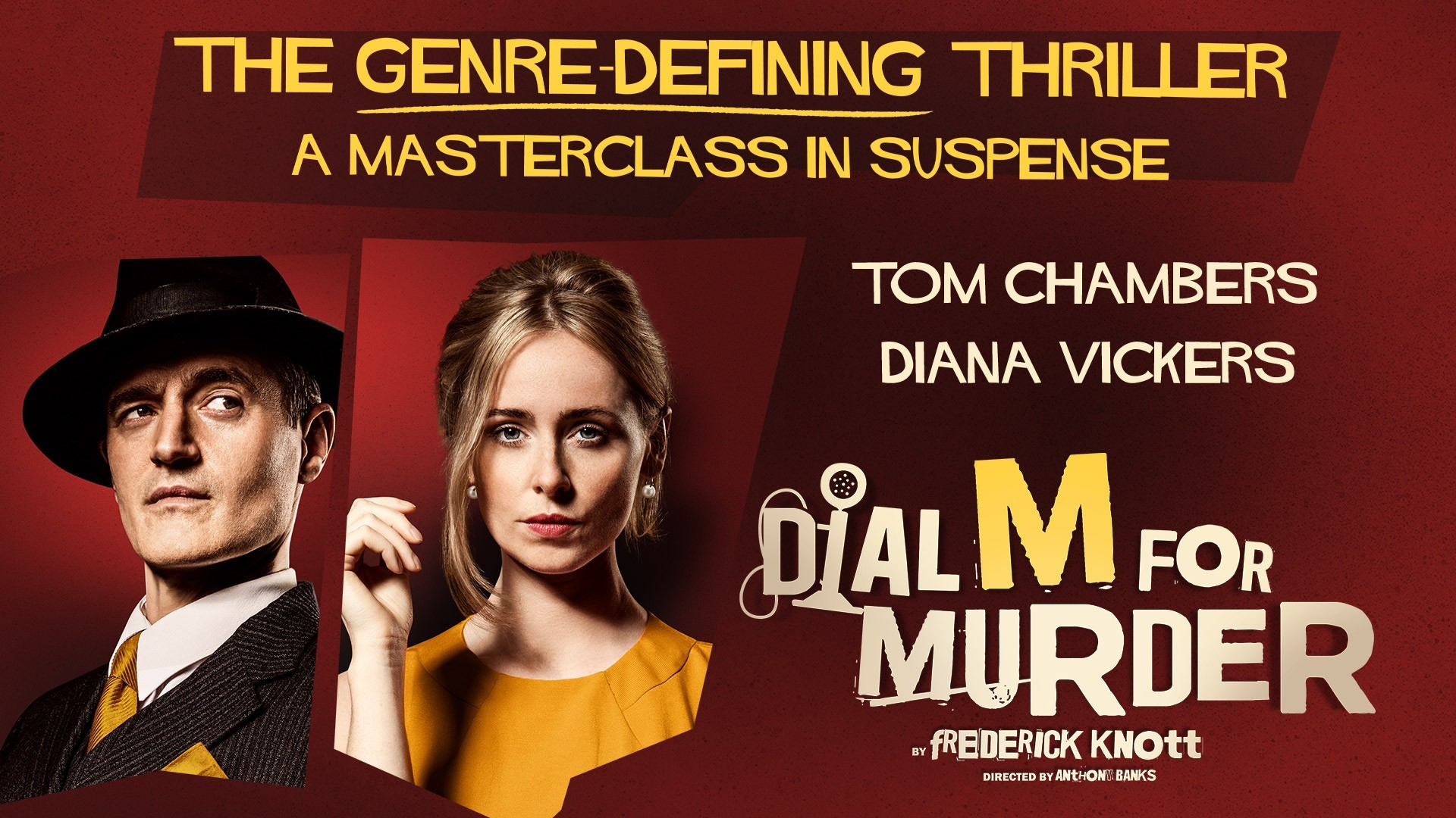 Dial M for Murder takes to Theatre Severn stage