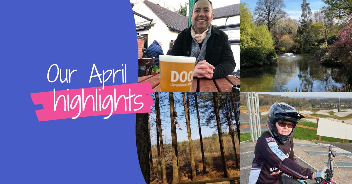 Team J&PR's April Highlights