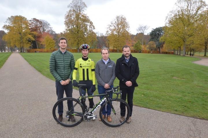 Major plumbing company to sponsor Shropshire cycling team