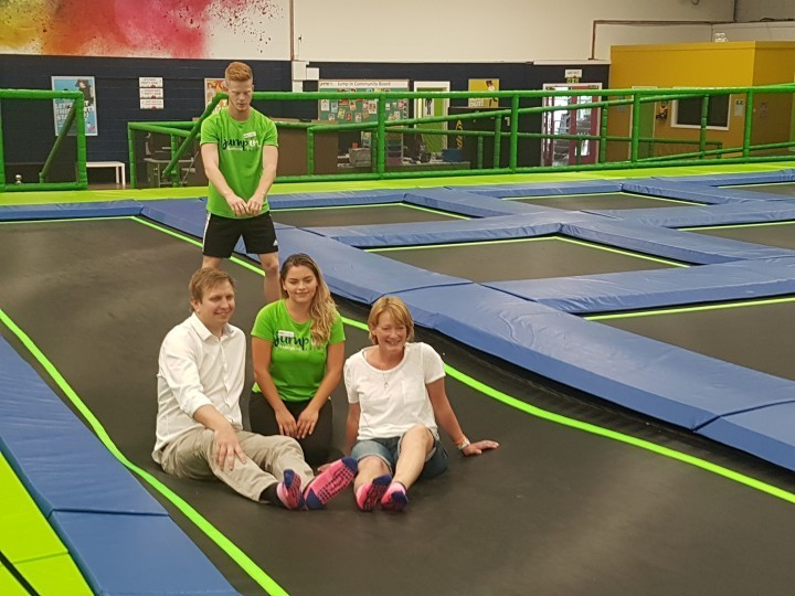 Shropshire trampoline park backs charity in memory of local boy