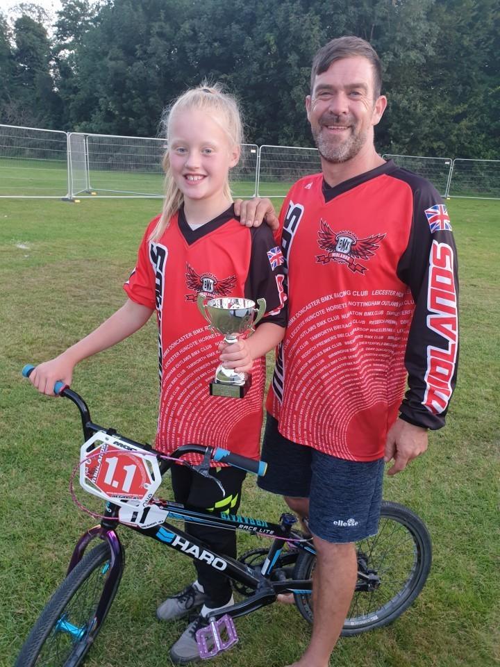 Ten-year-old Wrekin Rider brings home British title