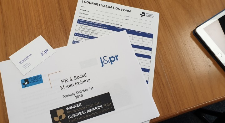 Are you looking for PR or social media training?