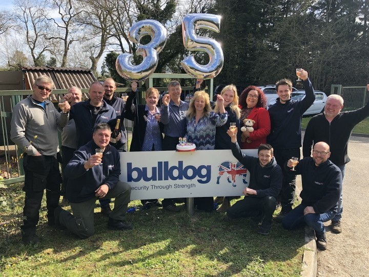 Global security firm celebrates 35 years at Shropshire HQ