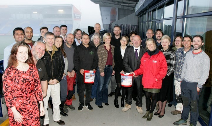Fundraising business group benefit from new website