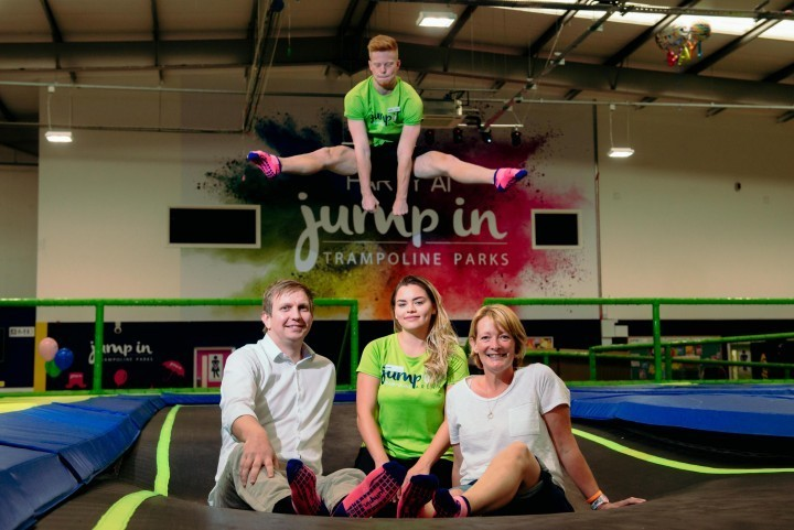 Half term trampoline challenges to raise funds for Harry Johnson Trust