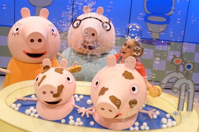Peppa Pig brings birthday smiles
