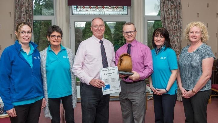 Powys urgent response service receives award