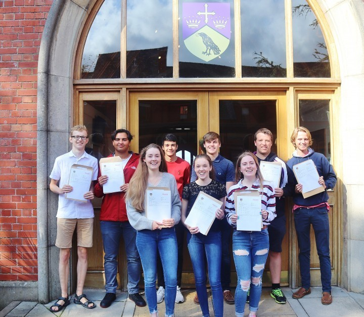Ellesmere College celebrates A'level success