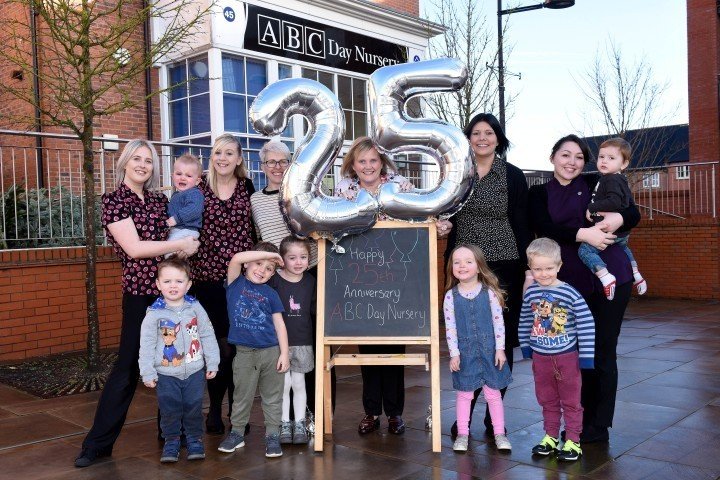 Telford nursery group celebrates successful 25 years in business