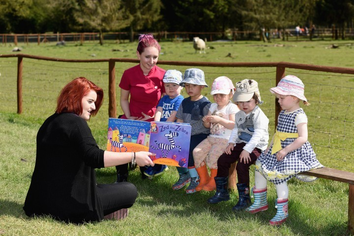 Farm proves a hit for children's storytime