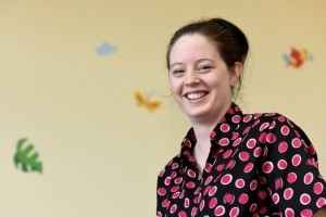 Vicky Savage, new manager at ABC Day Nursery in Telford.