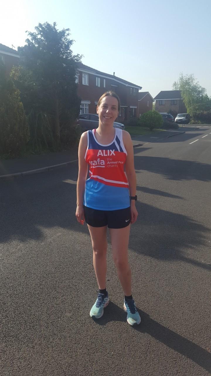 Marathon Challenge for Alix