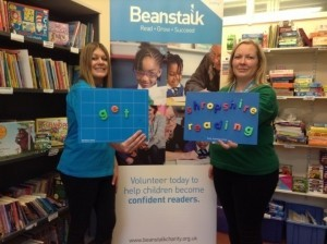 Anita Foster and Lucy Sobey of Beanstalk.