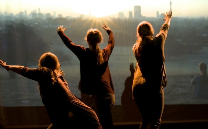 Experimental dance company at Theatre Severn