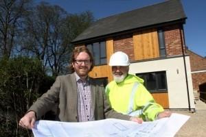 Craig Marston and David Pallatina, of DGP builders.