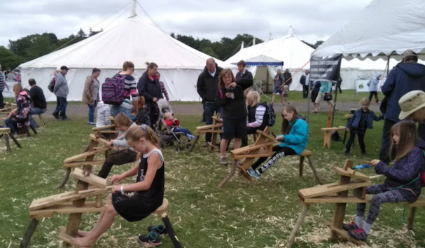 Staffordshire attraction adds to fun at County Show