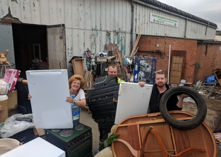 South Shropshire charity makes cry for help as rubbish is dumped on site