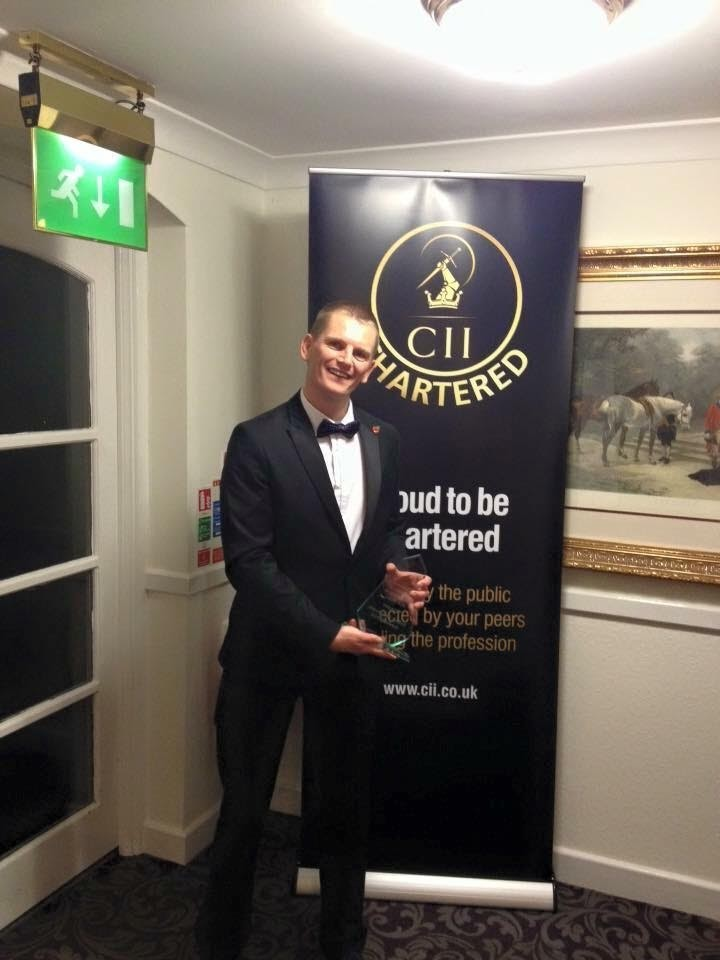Young insurance broker scoops top award