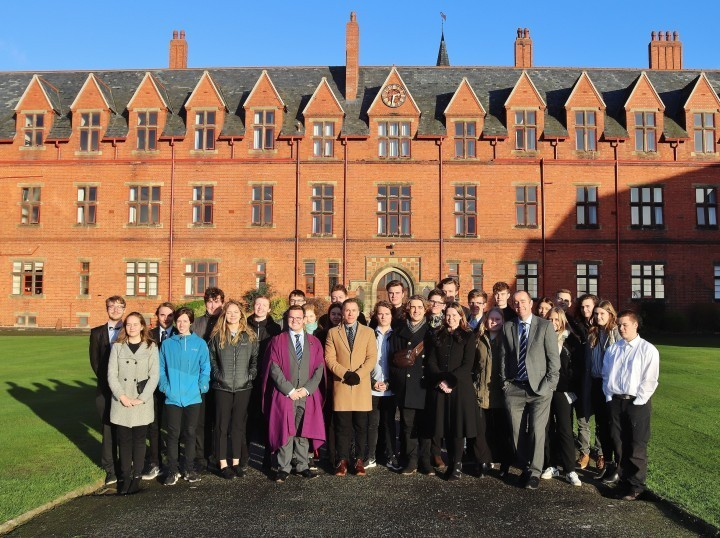 Students from Denmark settle in at Shropshire school