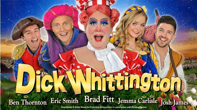 They did it again a fantastic panto mime at Theatre Severn