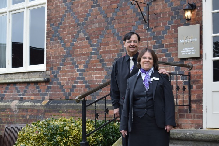 Hotel couple Clara and Pedro clock up 60 years of service