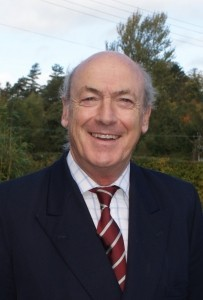 New chairman retired Brigadier Andrew Meek