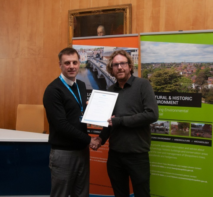County design firm wins for second time at Shropshire Design Awards