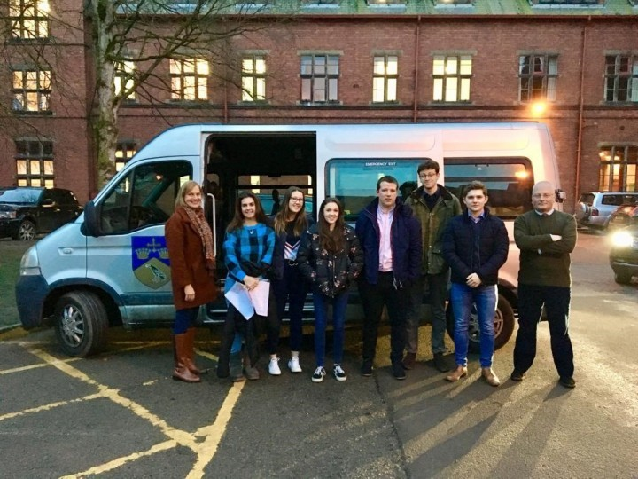 Shropshire students volunteer to help homeless charity
