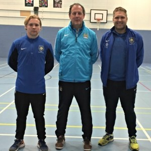 Elliott Durrell, Alan Binnersley and Neil Prescott