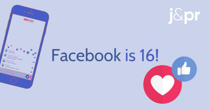 Facebook's Sweet 16