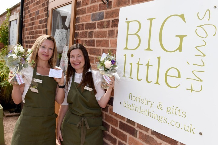 Mystery of lonely bouquets appearing around Shropshire is solved