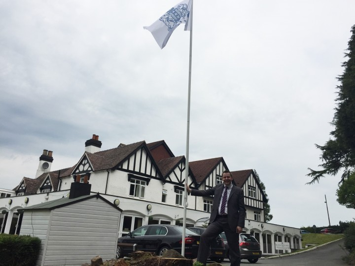 Telford hotel flying the flag for wedding season