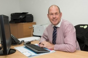 Managing director, Carl Wilday