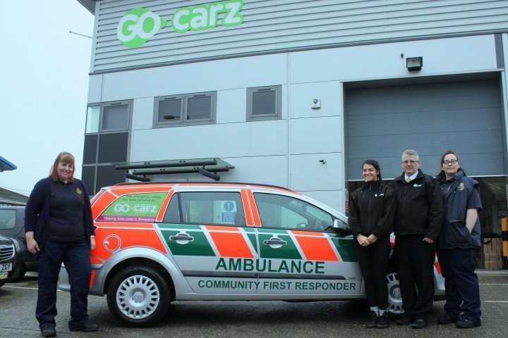 New vehicle for Community First Responders to help save lives
