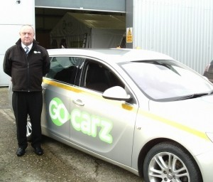 Anthony Taylor, the first driver support officer to be employed by Go Carz.