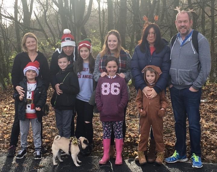 Sponsored walk raises £1,000 for charity