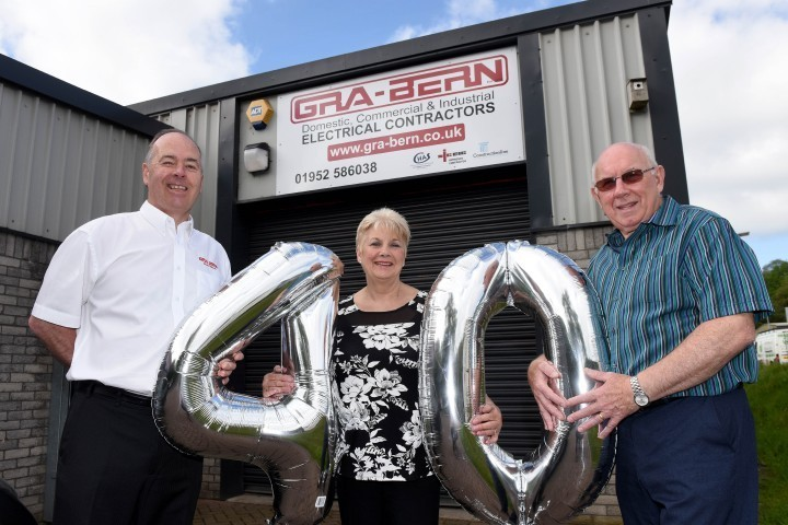 Electrical contractor celebrates 40 years in business