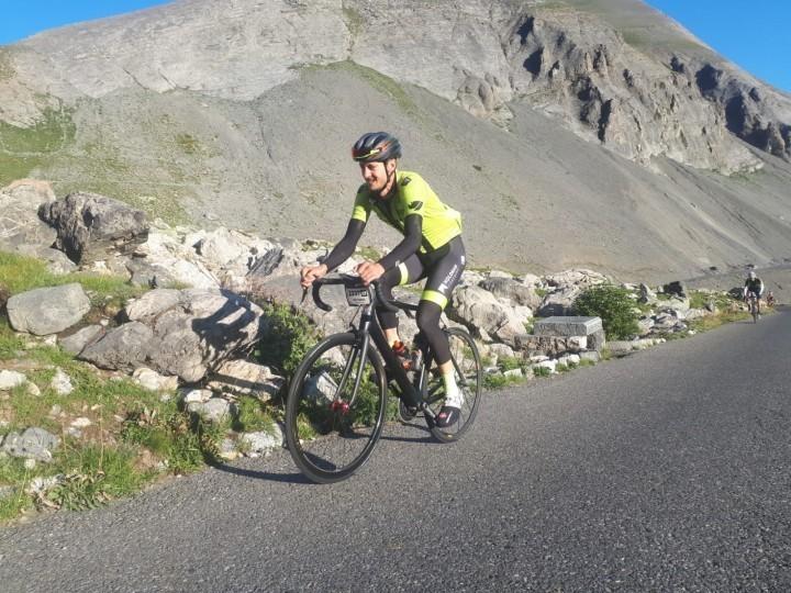 Shropshire rider makes podium for 2018 Haute Route Alps