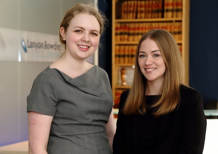Shropshire law firm growing with new trainees