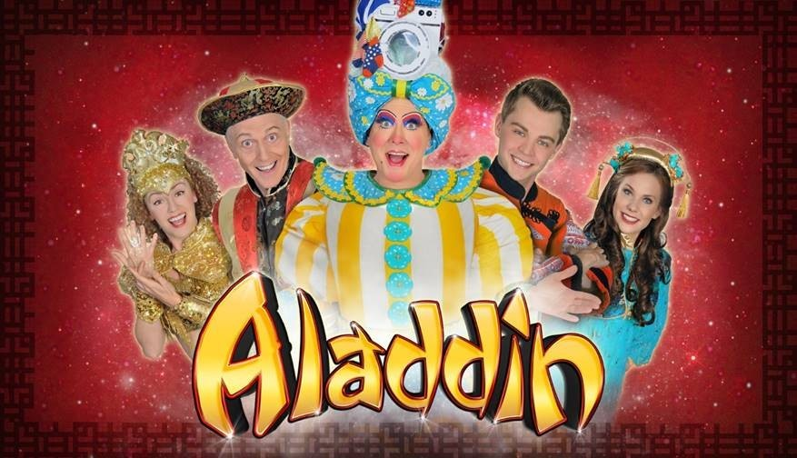 Oh yes it is, it's panto time!