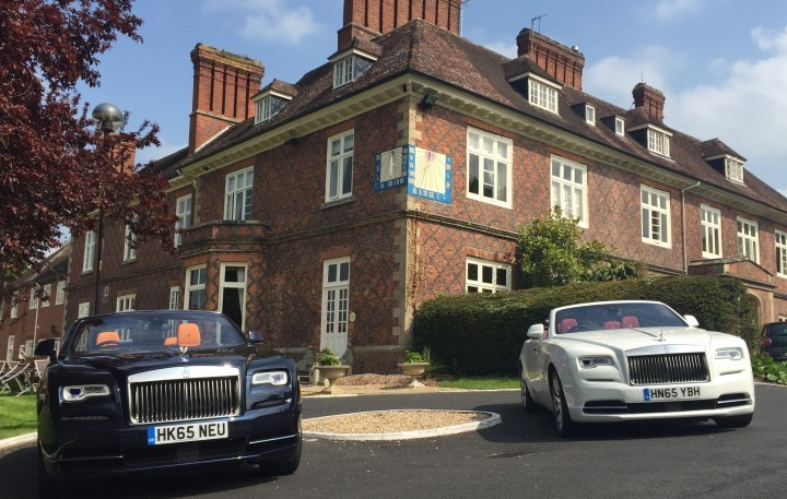 Rolls-Royce fleet rolls into Shropshire for rare line-up