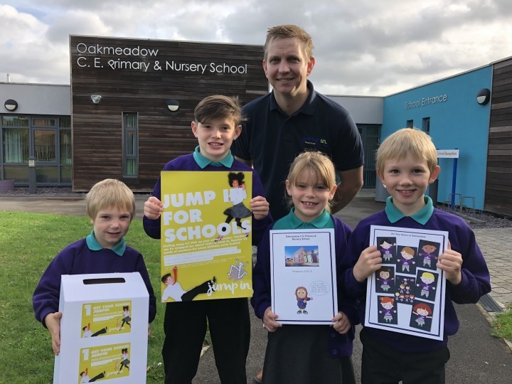 Shropshire and Powys school voucher scheme launched at trampoline park