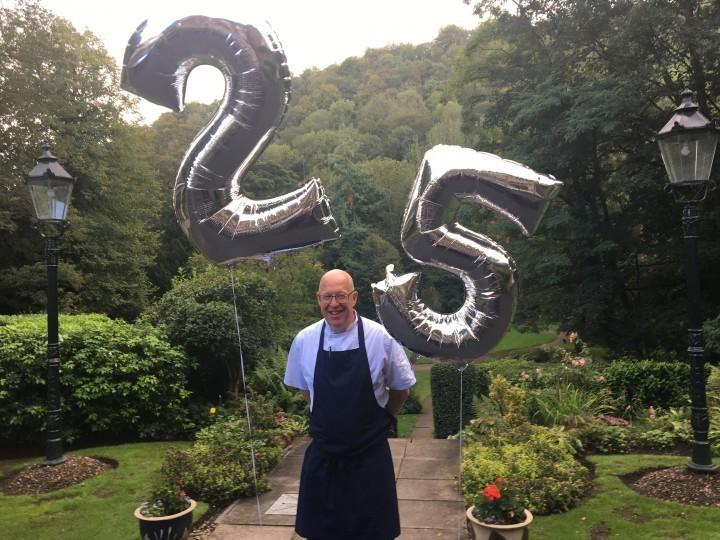 Head chef of Ironbridge hotel celebrates 25 years service