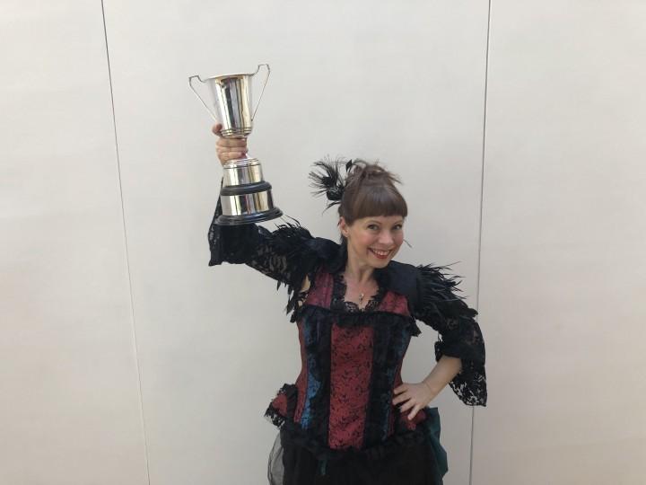 Award win is pure magic for female solo artist