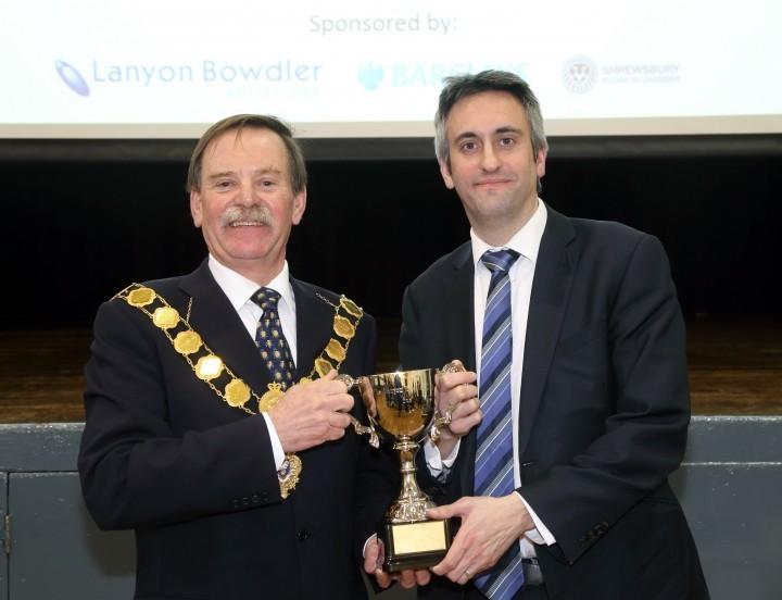 Councillor Miles Kenny and Judge Jim Tindal.