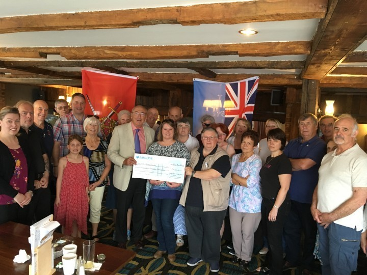 Strength Spectacle Helps Raise £400 for Military Charity
