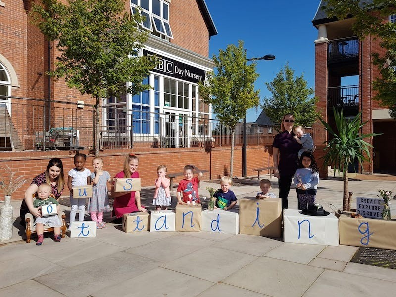 """""""Outstanding"""" – you can say that again at a Telford day nursery group after Ofsted visit."""