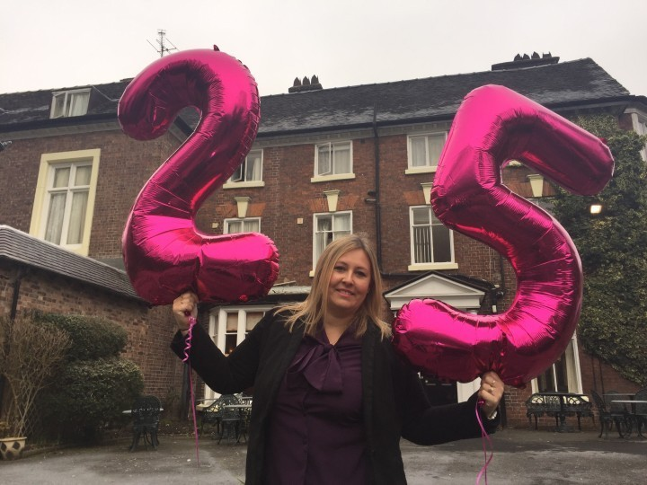 Shropshire hotel manager celebrates silver anniversary