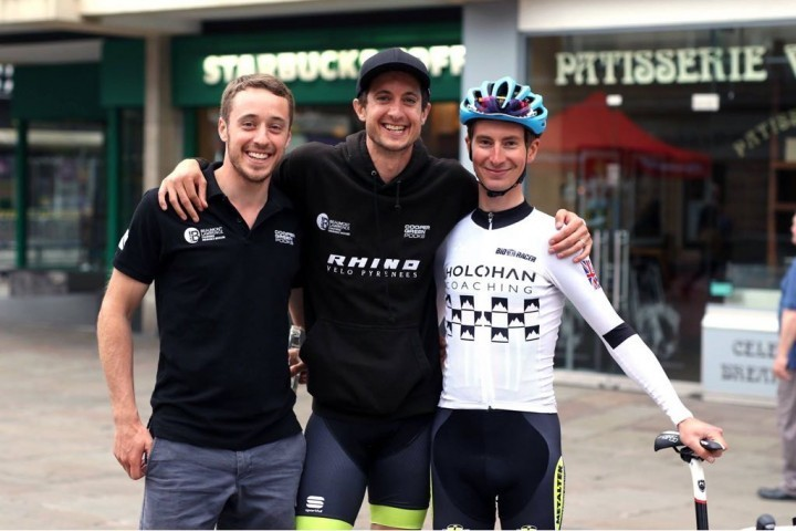 Top cycling professional joins Shropshire racing team