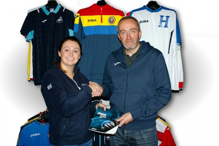 Shropshire firm delight at sports kit deal